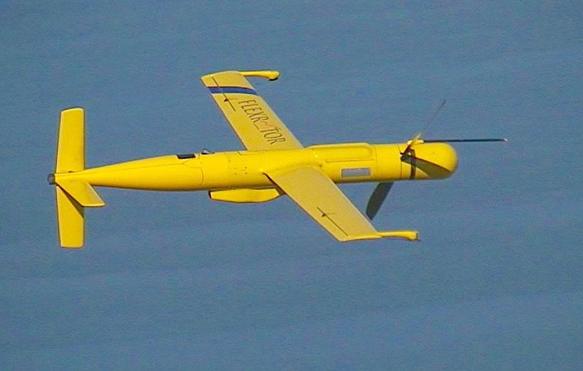 Flexrotor Long-Range Robotic Drone